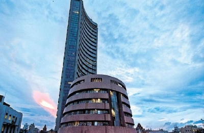 Sensex rises over 100 pts ahead of GDP data release; Nifty reclaims 11,700