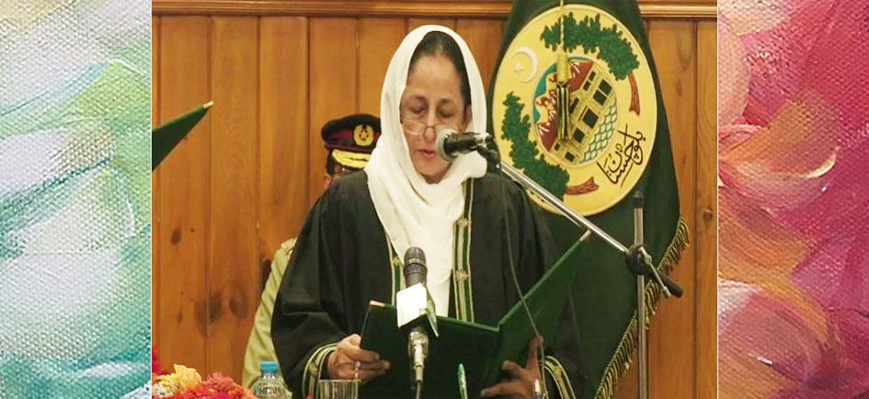 First woman chief justice takes oath in Pakistan (Photo- Twitter/@VofBalochistan)