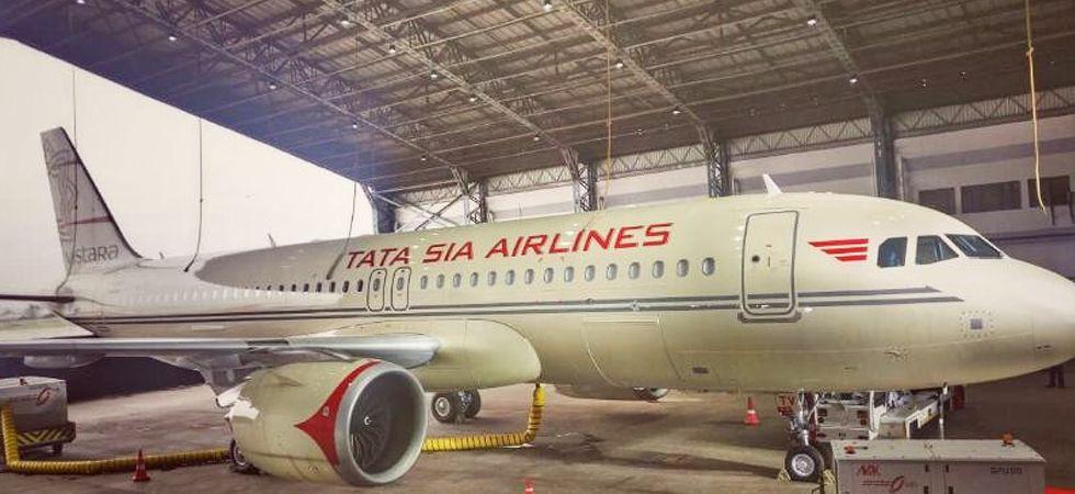 Vistara to fly 22nd plane with Tata Air Lines livery (Photo- Twitter/@airvistara)