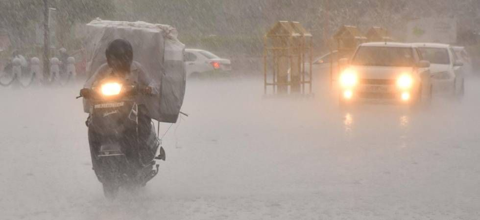 Delhi weather: Heavy rainfall lashes national capital for second day (File Photo)