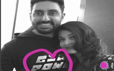 Aishwarya Rai Bachchan and Abhishek Bachchan steal hearts