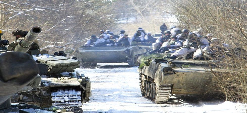 Ukraine launches joint military drills with NATO (Photo:Twitter)