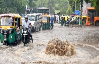 Delhi Weather: Heavy rains continue to lash parts of National Capital