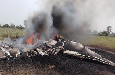 Indian Air Force's MiG-27 plane crashes near Rajasthan's Jodhpur