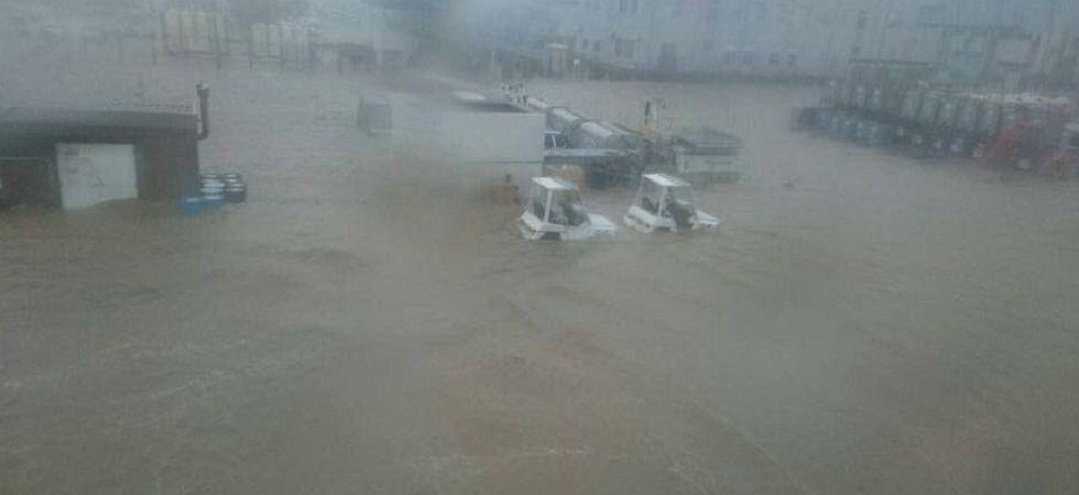 Six dead as strongest typhoon in quarter century batters Japan (Photo: Twitter)
