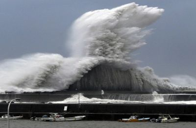 Typhoon Jebi hit western Japan, nine killed, several injured