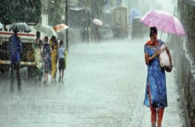 Heavy to moderate rainfall in parts of Rajasthan