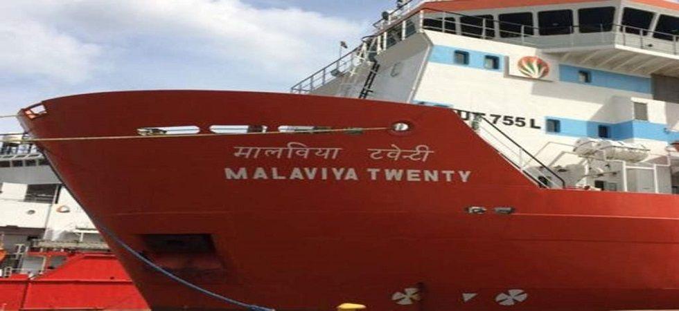 Malaviya Twenty: Stranded Indian ship in Great Yarmouth put up for sale (Photo- Twitter/@DiscoveryMosti)