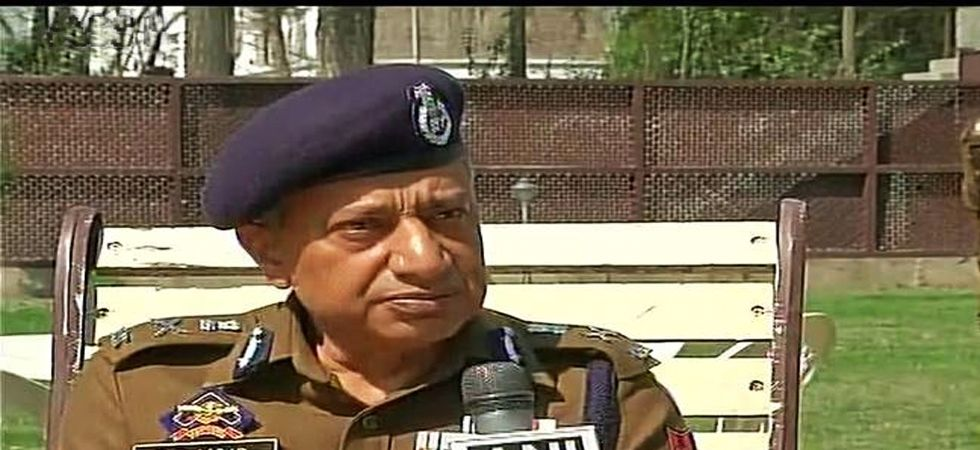 Jammu and Kashmir DGP SP Vaid