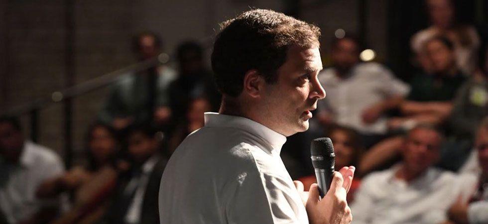 Congress planning 'Modi-like' event for Rahul Gandhi in Dubai next month (Photo: Twitter/@RahulGandhi)