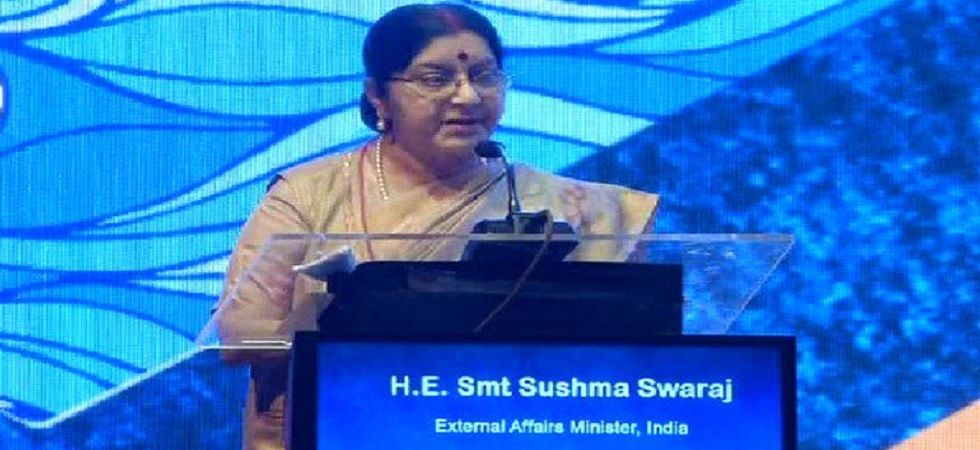Sushma Swaraj to embark on two-day visit to Russia Thursday: MEA (Photo: Twitter/ANI)