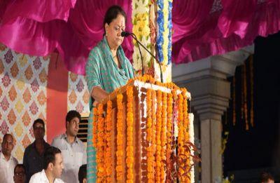 Vasundhara Raje's sop bonanza before elections, slashes vat on petrol, diesel
