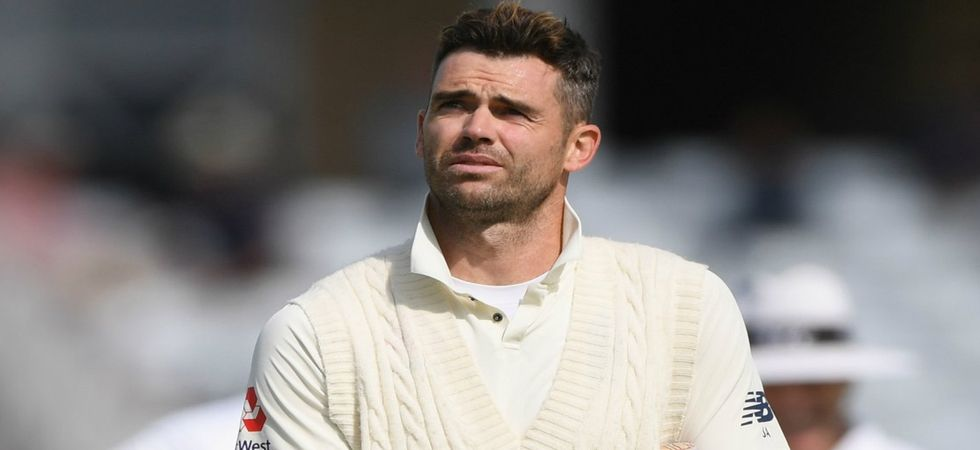 James Anderson fined 15 per cent of match fee for showing dissent  (Photo: Twitter)
