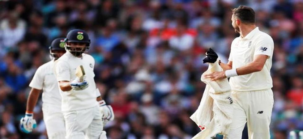 Virat Kohli, James Anderson involved in heated battle of words (Photo: Twitter)