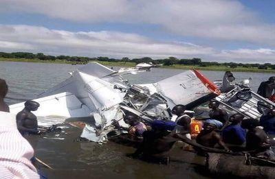 Plane crash kills 19 in South Sudan, four survive