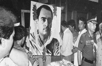 Will BJP release terrorists who killed ex-PM Rajiv Gandhi, asks Congress