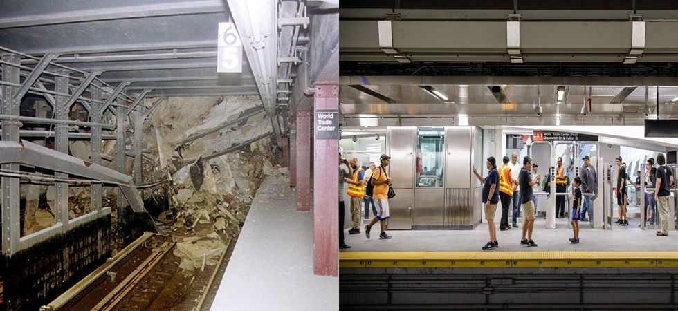 9/11 attacks victim World Trade Centre's Cortlandt subway reopens after 17 years (Photo: Twitter)