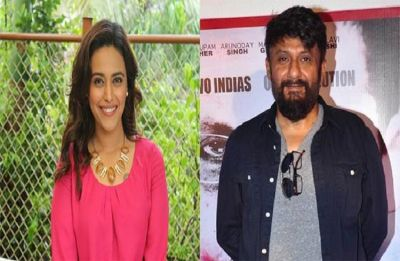Vivek Agnihotri forced to delete abusive tweet against Swara Bhaskar