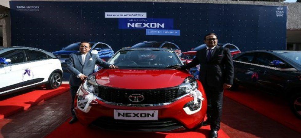 Tata Motors launches AMT version of Nexon in Nepal (Photo- Twitter/@odmag)