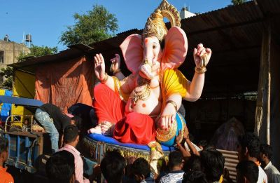 Ganesh Chaturthi: From Bollywood to politics, celebrities offer prayers to Lord Ganesha