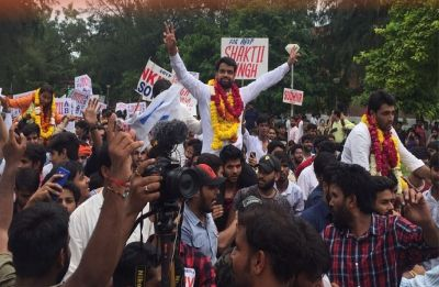 DUSUElections 2018 Results Updates: ABVP bags three posts, NSUI one; Ankiv Baisoya is DUSU president