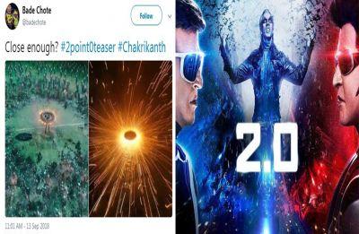 Rajinikanth bombshell 2.0 dropped, Twitterati trollsters embrace the golden sci-fi opportunity!