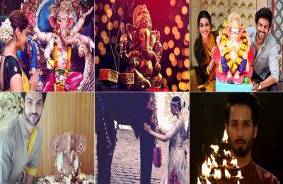 Ganesh Chaturthi 2018: Celebrities welcome Lord Ganesha and mark the beginning of joyous festivities