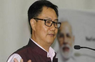 Kiren Rijiju asks police officers to remain calm in tense situations