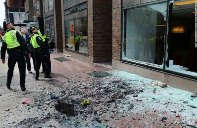 10 injured, hundreds evacuated after dozens of explosions hit Boston buildings