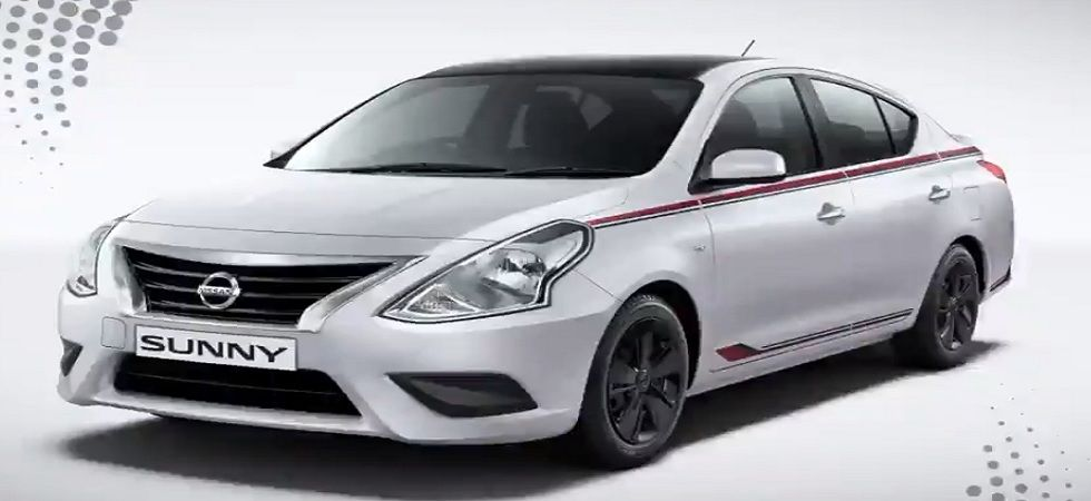 Nissan drives in Sunny variant at Rs 6.99 lakh (Photo- Twitter/@Nissan_India)