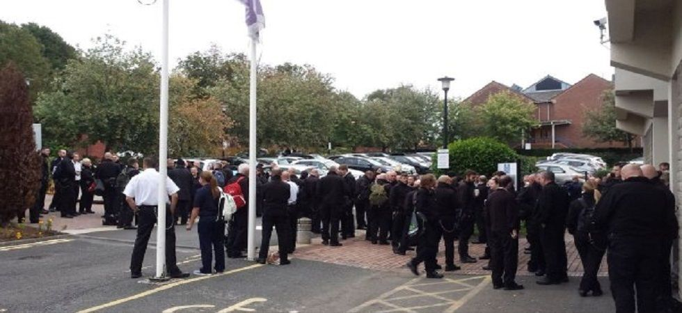 UK prison staff hold strike over dangerous conditions (Photo- Twitter)