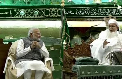 At Indore mosque, PM Modi praises Dawoodi Bohra community for its contribution to 'Mission of Vikas'