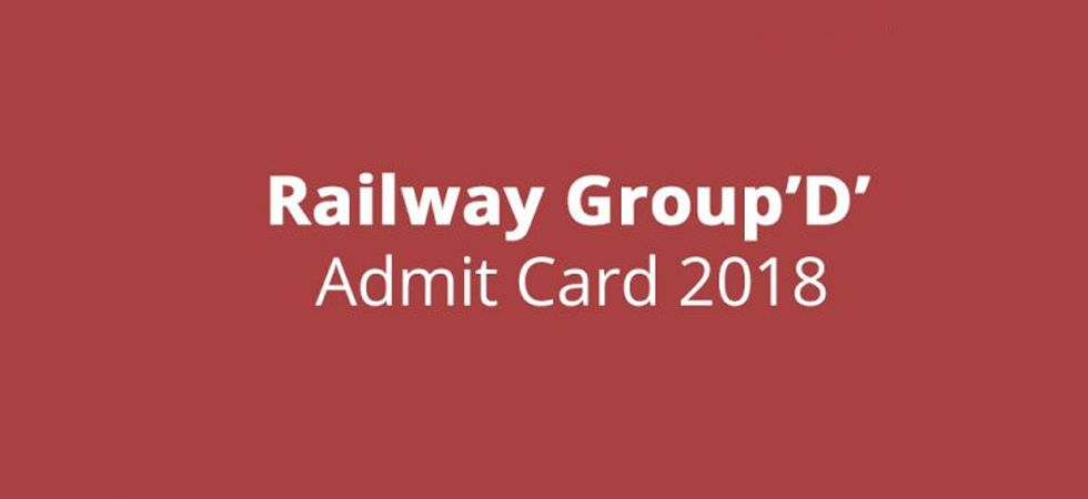RRB Group D 2018: Online Admit Card for September 17 released; Know how to download (Photo: Twitter)