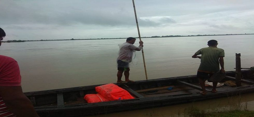 1.39 lakh affected in fresh wave of floods in Assam (Photo- Twitter/@MukulAdhikary5)