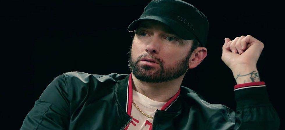 Eminem apologises for using homophobic slur (Photo:Twitter)