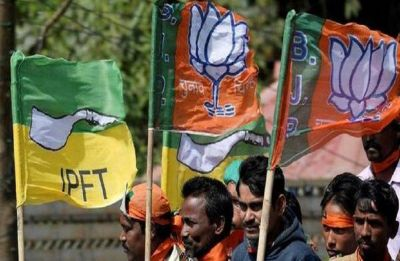 Tripura: BJP, IPFT bury the hatchet ahead of September 30 rural bypoll