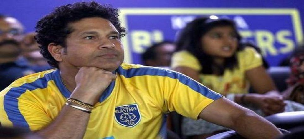 Sachin Tendulkar likely to sell off his stakes with Kerala Blasters Football Club (File Photo- PTI)