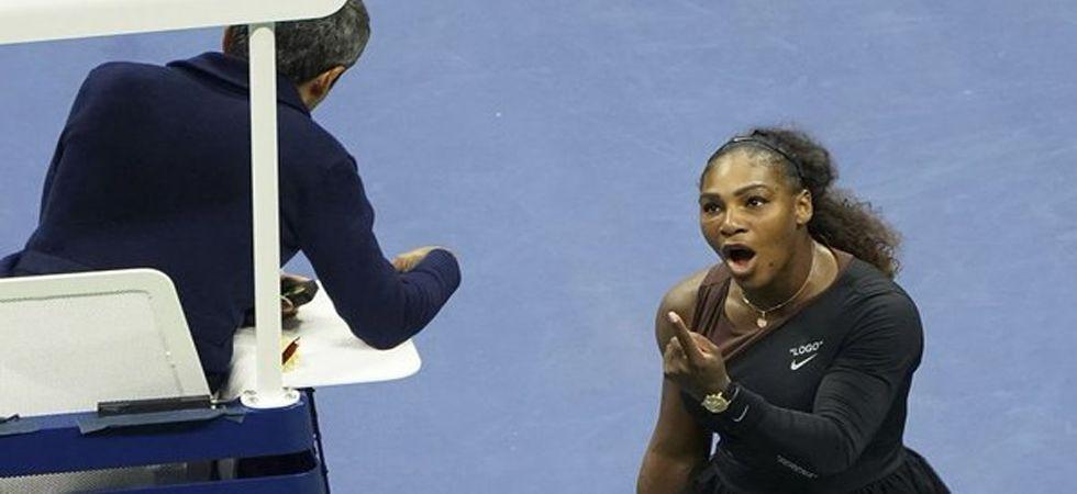 Serena Williams talks fashion, not fouls at Las Vegas event (Photo: Twitter)