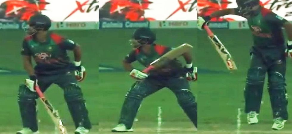 Tamim Iqbal batting with fractured wrist won hearts | Check reactions (Photo: Twitter)