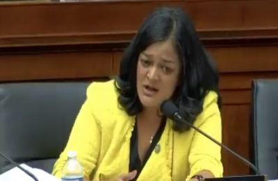 Americans recognising that they don't trust president: Jayapal