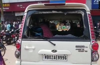 Bengal BJP President Dilip Ghosh blames Trinamool Congress for car attack in East Midnapore
