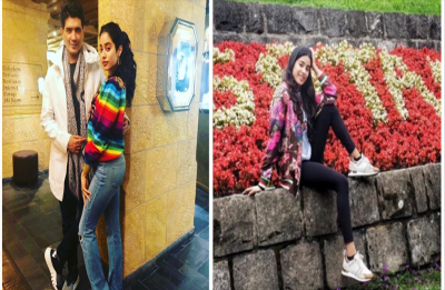 Jahnvi Kapoor's recent photos from Switzerland will give you travel goals
