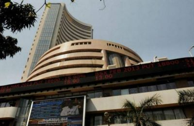 Sensex cracks 350 points on profit-booking, weak global cues