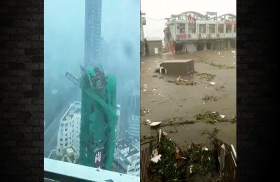 Typhoon Mangkhut: Four killed, 3.11 million evacuated as tropical storm lashes China