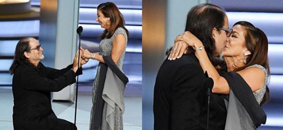 Emmys 2018, Emmy Awards, Glenn Weiss, Jan Svendsen, Proposal,Image courtesy: Instagram