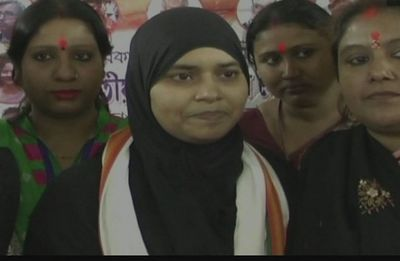 It is a welcome step: Ishrat Jahan on Union cabinet's decision on Triple Talaq
