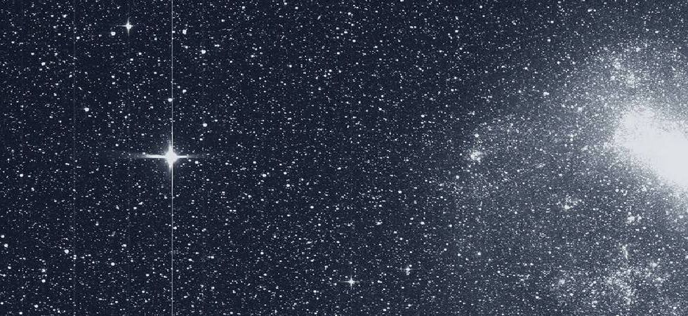 NASA'S TESS telescope shares first image from its planet hunt mission (Image: Twitter)