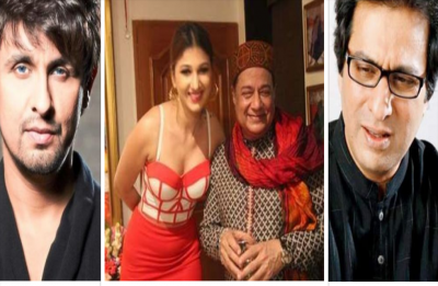 Sonu Nigam and Talat Aziz gave a befitting reply to Anup Jalota's trollers