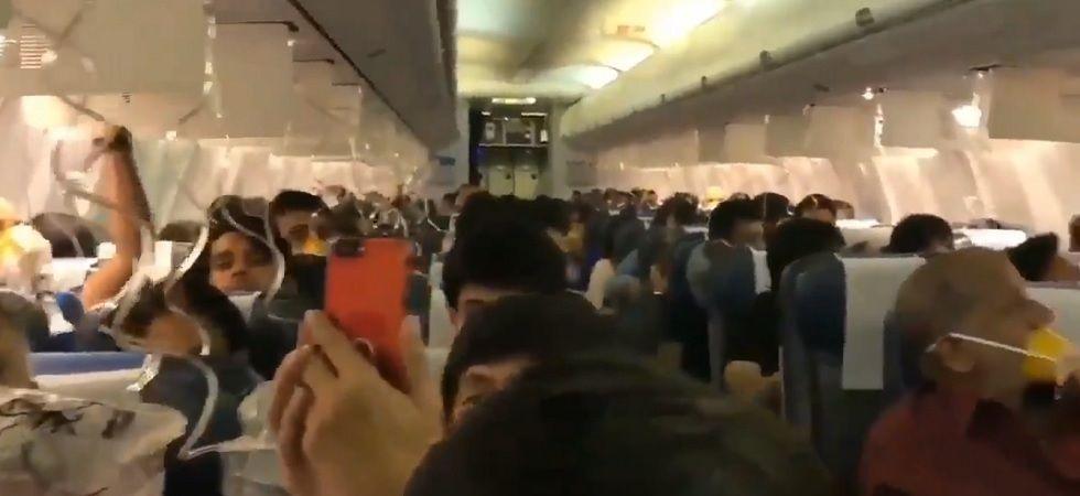 Jet Airways flight: Five passengers suffer 'mild conductive deafness' (Photo- Twitter)