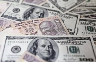 Rupee at 2-week high, gains 53 paise in early trade